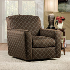 Berkline Plattsburgh Swivel Accent Chair