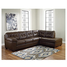 Treadwell Open Ended Chaise Sectional (Choose Left or Right Facing)
