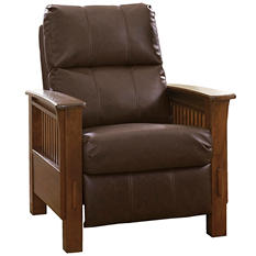 Pettersen Mission Style High-Leg Recliner