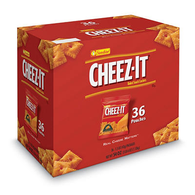 Sunshine Cheez-It Crackers, 1.5oz. (36ct)