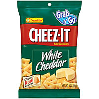 Cheez-It White Cheddar Baked Snack Crackers (3 oz., 6 pk.)