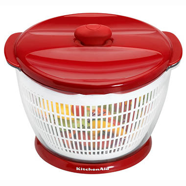 KitchenAid Salad and Fruit Spinner - Red