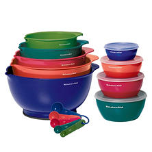 KitchenAid Mixing and Prep Bowls, 18-Piece Set