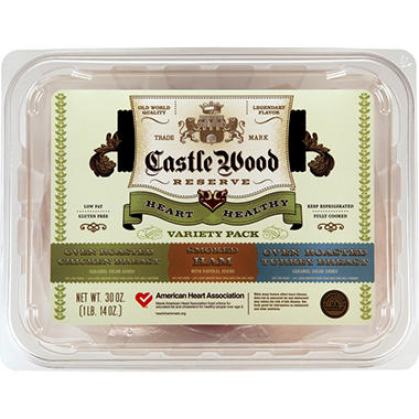Castle Wood Reserve® Heart Healthy Variety Pack - 30 oz.