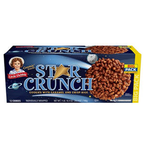 Little Debbie Star Crunch Cosmic Snacks - 12 ct.