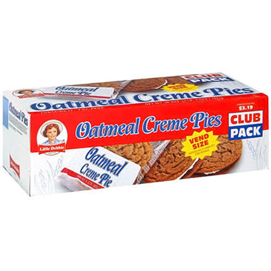 Little Debbie Oatmeal Creme Pie - 12 ct.