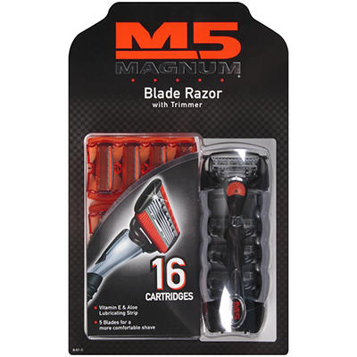 M5 Magnum® Blade Razor and Cartridges