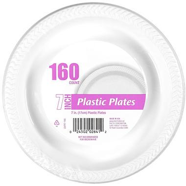 Plastic Plates - 7