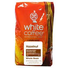 White Coffee Whole Bean Coffee - Assorted Flavors - 2.5 lbs.