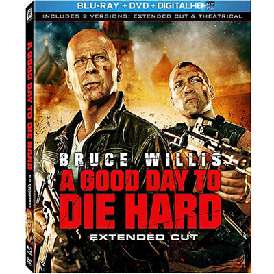 A Good Day To Die Hard (Blu-ray + DVD + Digital Copy) (Widescreen)