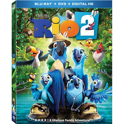 Rio 2 Blu-Ray + DVD + Digital Copy