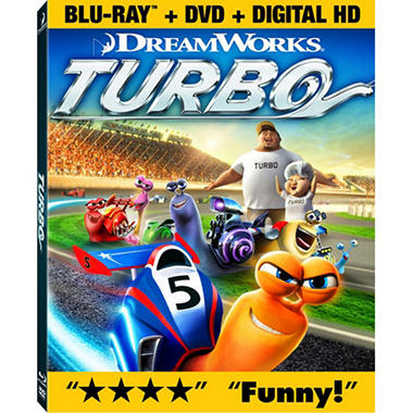 Turbo (Blu-ray + DVD + Digital Copy) (Widescreen)