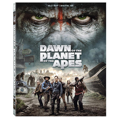 Dawn Of The Planet Of The Apes [Blu-ray + Digital HD]