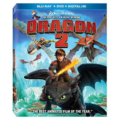How To Train Your Dragon 2 - Combo Pack [Blu-ray + DVD + Digital HD]