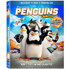 Penguins of Madagascar [Blu-Ray+ DVD + Digital HD]