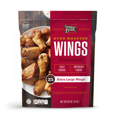 Willow Brook� Oven Roasted Wings - 64oz