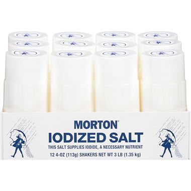 Morton Foodservice Iodized Salt Shakers (12 ct.)