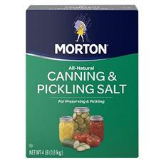 Morton Canning and Pickling Salt (4 lb.)