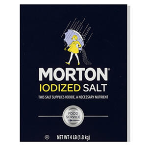 Morton Iodized Salt (4lb. box)