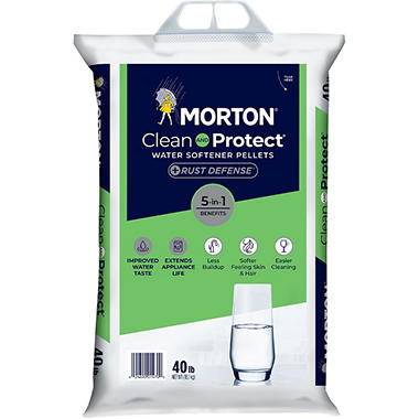 Morton Rust Remover Water Softening Pellets - 40 lb.