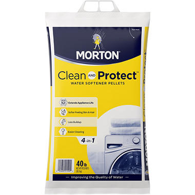 Morton System Saver II Water Softening Pellets - 40 lb.
