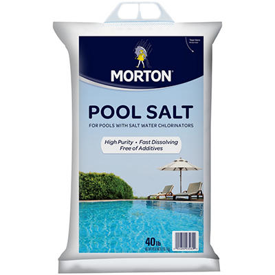 Morton Pool Salt - 40 lb.