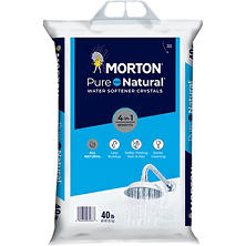 Morton Solar Salt Water Softening Crystals - 40 lb.