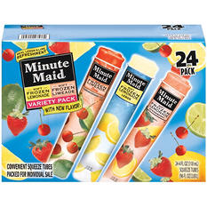 Minute Maid® Soft Frozen Lemonade & Limeade Variety Pack - 24/4 oz.