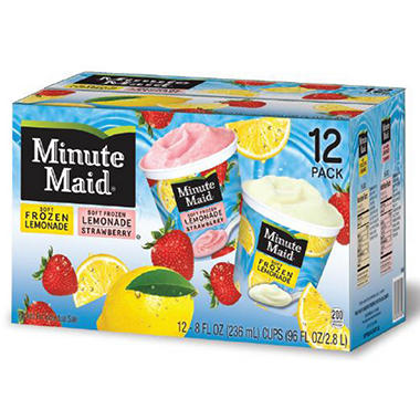 Lemonade Insurance Reviews >> Minute Maid Frozen Lemonade Cups - 8 oz. - 12 ct. - Sam's Club