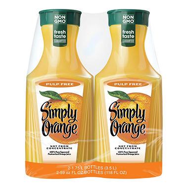 Simply Orange - 2/59 fl. oz.