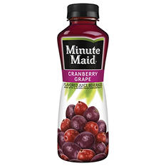 Minute Maid 100% Cranberry Grape Juice (15.2 oz., 24 pk.)
