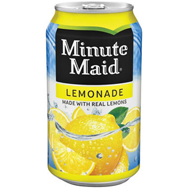 Minute Maid Lemonade (12 oz. cans, 24 pk.)