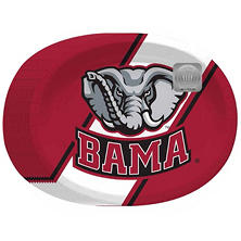 "NCAA University of Alabama Crimson Tide Paper Platters (10"" x 12"", 50ct.)"