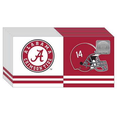Alabama Crimson Tide Napkins - 3 ply - 150 ct.