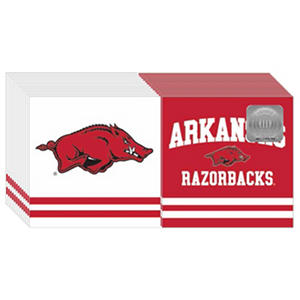 Arkansas Razorbacks Napkins - 3 ply - 150 ct.