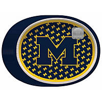"NCAA University of Michigan Wolverines Paper Platters (10"" x 12"", 50 ct.)"