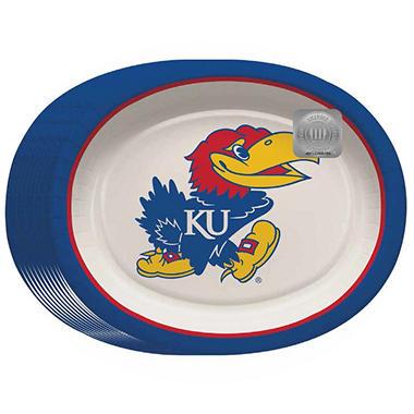 Kansas Jayhawks Oval Platters - 10