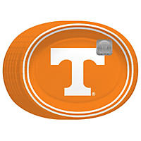 "Tennessee Volunteers Oval Platters (10"" x 12"" - 50ct.)"
