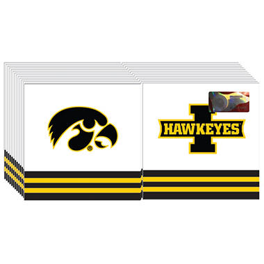 Iowa Hawkeyes Napkins - 3 ply - 150 ct.
