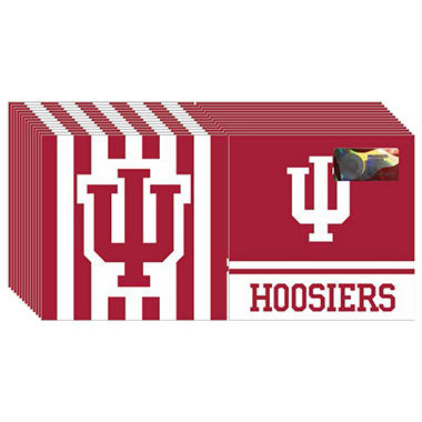 Indiana Hoosiers Napkins - 3 ply - 150 ct.