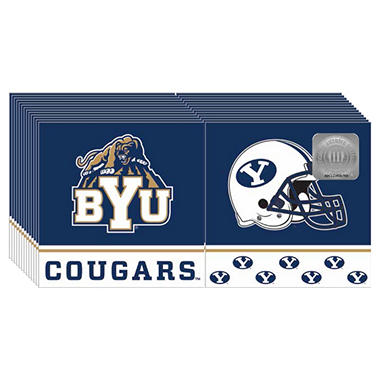 BYU Cougars Napkins - 3 ply - 150 ct.