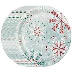 "Daily Chef Fancy Reindeer Paper Plates (10.25"", 80ct.)"