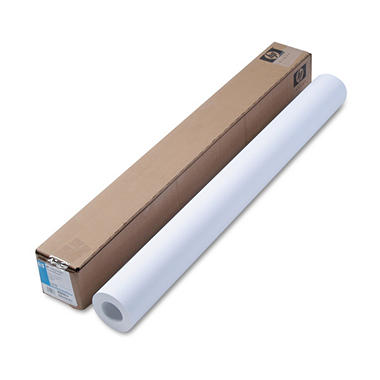 "HP Designjet - Inkjet Large Format Paper, 35 lbs., 36"" x 100 ft, White - Roll (1)"