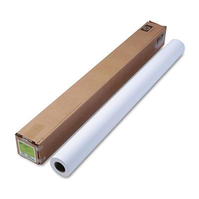 "HP Designjet Inkjet Large Format Paper, 42"" x 100 ft - White"