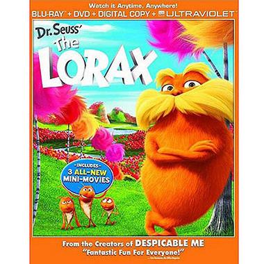 Dr. Seuss' The Lorax (Blu-ray + DVD + Digital Copy + UltraViolet) (Widescreen)