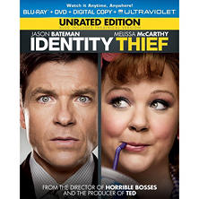 Identity Thief (Unrated) (Blu-ray + DVD + Digital Copy + UltraViolet) (Widescreen)