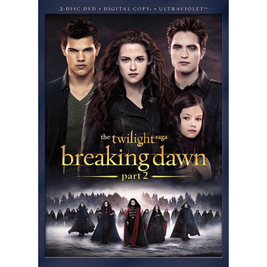 The Twilight Saga: Breaking Dawn - Part Two (DVD)(Anamorphic Widescreen)