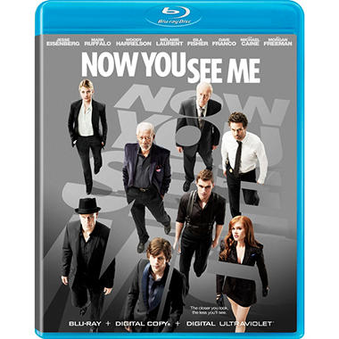 Now You See Me (Blu-ray + DVD + UltraViolet) (Widescreen)