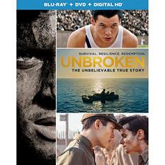 Unbroken [Blu-ray + DVD + Digital HD]