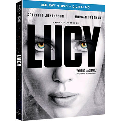 Lucy [Blu-ray + Digital HD]